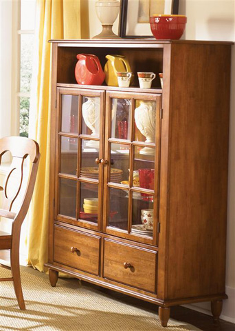 Liberty Furniture - Curio Cabinet - 76-CH4460