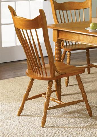 Liberty Furniture - Mule Ear Side Chair - 85-C1430S