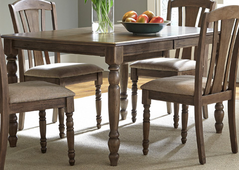 Liberty Furniture - Rectangular Leg Dining Table - 163-T4072