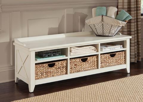 Liberty Furniture - Cubby Storage Bench - 282-OT47
