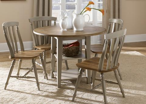 Liberty Furniture - Drop Leaf Leg Dining Table - 541-T4242
