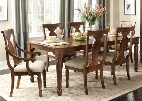 Liberty Furniture - Rectangular Leg Dining Table - 589-T4284