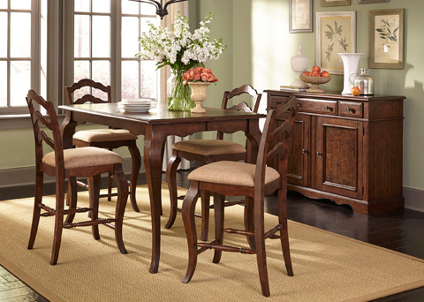 Liberty Furniture - Gathering Dining Table - 606-GT5454
