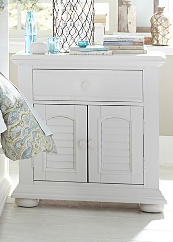 Liberty Furniture - Two Door One Drawer Nightstand - 607-BR61