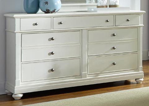 Liberty Furniture - Seven Drawer Dresser - 631-BR31