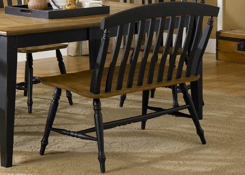 Liberty Furniture - Slat Back Bench - 641-C9000B