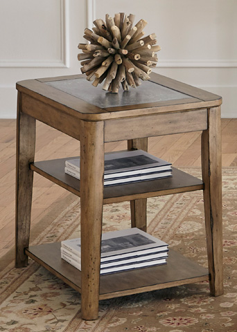 Liberty Furniture - Chairside Table - 645-OT1021