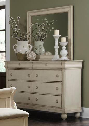 Liberty Furniture - Eight Drawer Dresser - 689-BR31