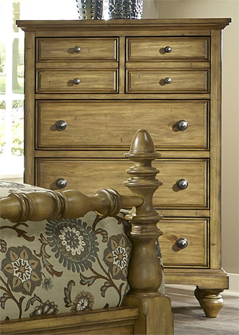Liberty Furniture - Five Drawer Chest - 797-BR41