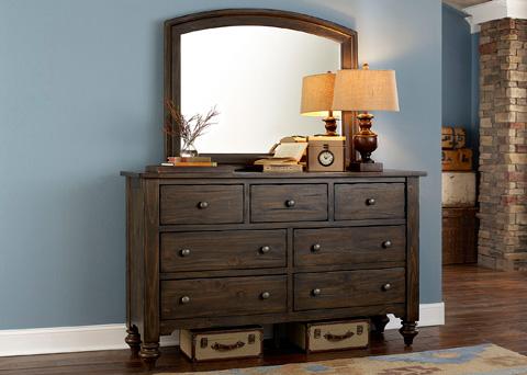 Liberty Furniture - Seven Drawer Dresser - 818-BR31