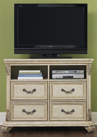Liberty Furniture - Four Drawer Media Chest - 837-BR45