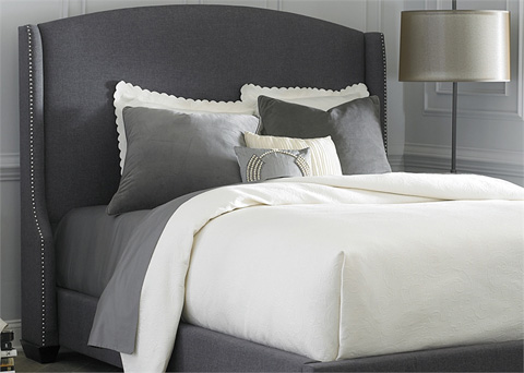 Liberty Furniture - Queen Wing Shelter Headboard - 150-BR23HU