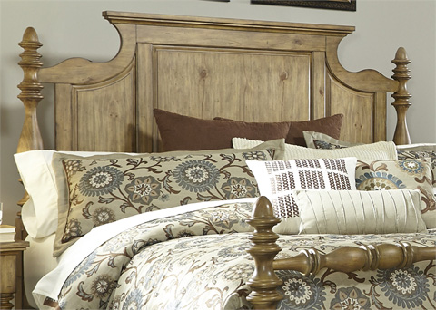 Liberty Furniture - Queen Poster Headboard - 797-BR01