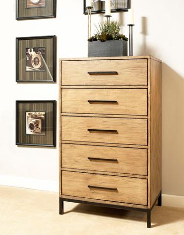 Ligna Furniture - Five Drawer High Chest - 9524