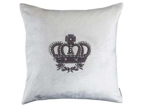 Lili Alessandra - Imperial Crown Square Pillow - L120SI