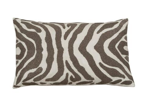 Lili Alessandra - Zebra Large Rectangle Pillow - L130DIP