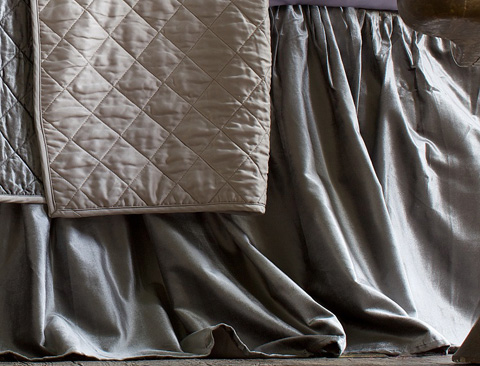 Lili Alessandra - Chloe Gathered Bed Skirt - L190SKGS