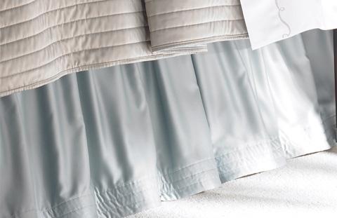 Lili Alessandra - S&S Reversible Gathered Bedskirt - L500SKSB
