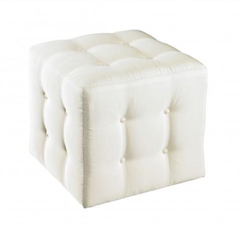 Lillian August Fine Furniture - Kelton Cube Ottoman - LA8103OT