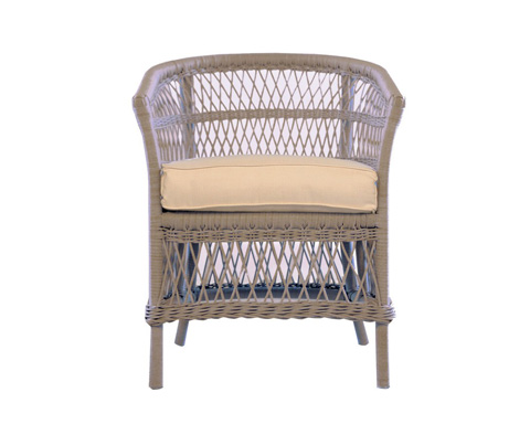 Lloyd Flanders - Barrel Dining Chair - 271013