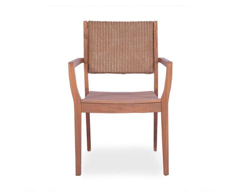 Lloyd Flanders - Teak Dining Chair - 286201