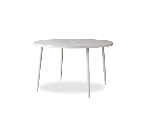 Lloyd Flanders - Round Umbrella Table - 248048
