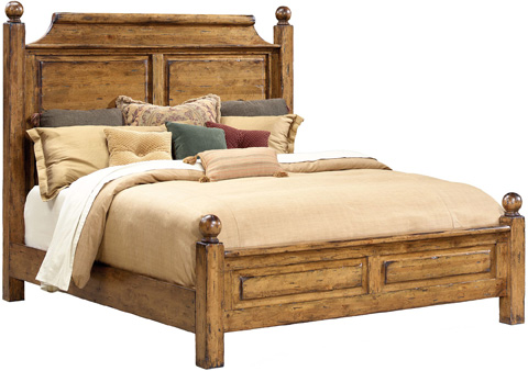 Lorts - Queen Panel Bed - 1202