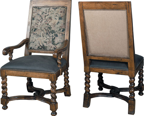Lorts - Upholstered Arm Chair - 9670