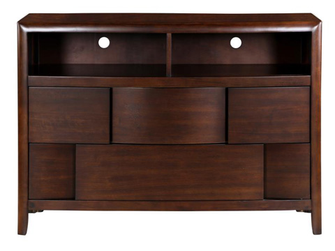 Magnussen Home - Nova Chestnut Two Drawer Media Chest - B1428-36