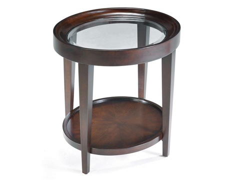Magnussen Home - Oval End Table - T1632-07