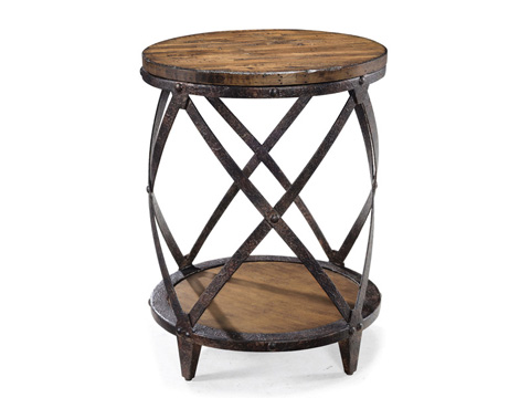 Magnussen Home - Round Accent Table - T1755-35