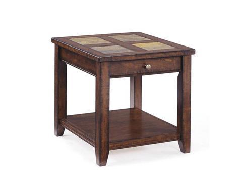 Magnussen Home - Rectangular End Table - T1810-03