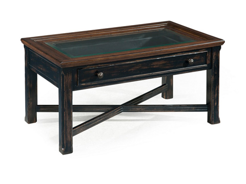 Magnussen Home - Small Rectangular Cocktail Table - T2365-43