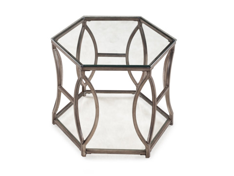 Magnussen Home - Hexagonal End Table - T2060-08
