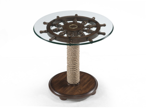 Magnussen Home - Round Accent Table - T2214-35