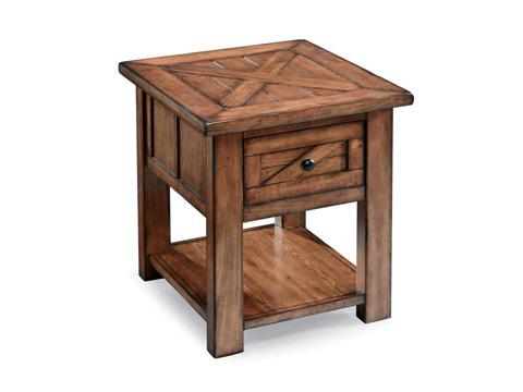 Magnussen Home - Rectangular End Table - T3269-03