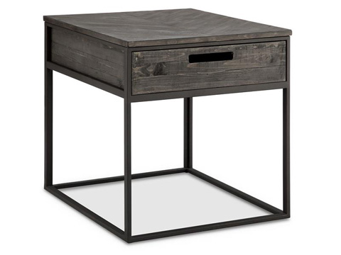 Magnussen Home - Rectangular End Table - T4034-03