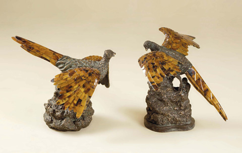 Maitland-Smith - Set of Two Birds - 1054-919