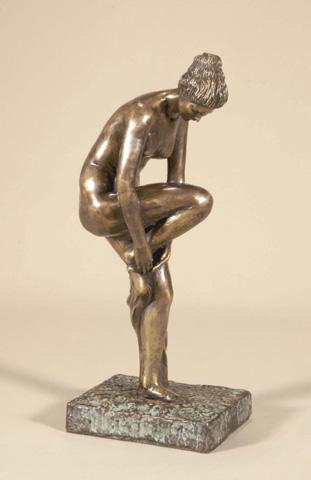 Maitland-Smith - Brass Woman - 1060-051