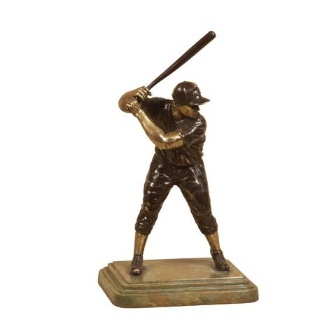 Maitland-Smith - Brass Baseball Player - 1060-058