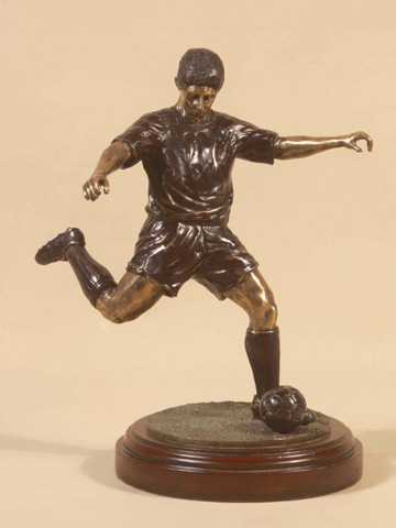 Maitland-Smith - Brass Soccer Player - 1060-063