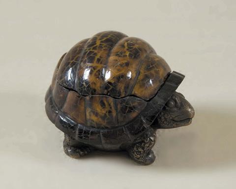 Maitland-Smith - Tiger Penshell Turtle Box - 1154-797