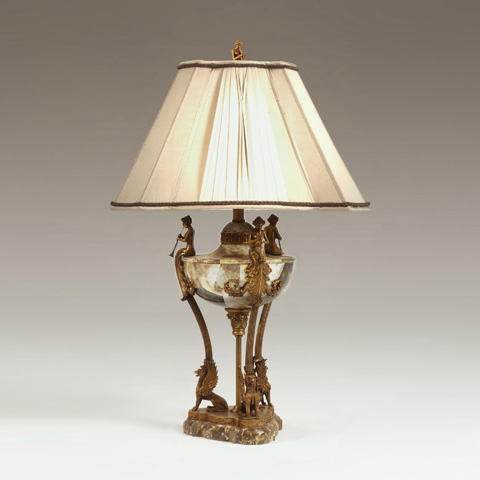 Maitland-Smith - Neoclassic Urn Lamp on Tripod Base - 1753-891
