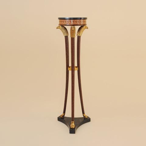 Maitland-Smith - Painted Brown Patina Pedestal - 2330-159