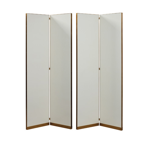 Maitland-Smith - Set of Two Leather Floor Screens - 2720-064