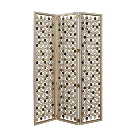 Maitland-Smith - Ivory Three Panel Floor Screen - 2748-007