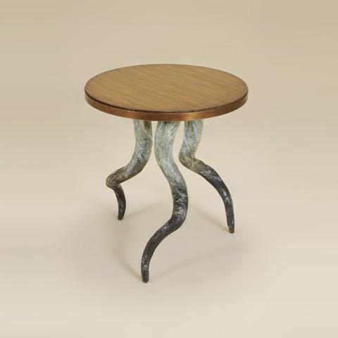 Maitland-Smith - Dark Wellington Cottage Table - 3043-213