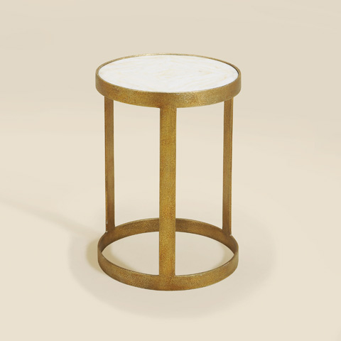 Maitland-Smith - Gilded Iron Occasional Table - 3051-282