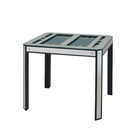 Maitland-Smith - Mirror Glass Inlaid Backgammon Game Table - 3147-001