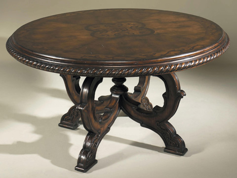 Maitland-Smith - Dark Antique Lido Dining Table - 3530-207
